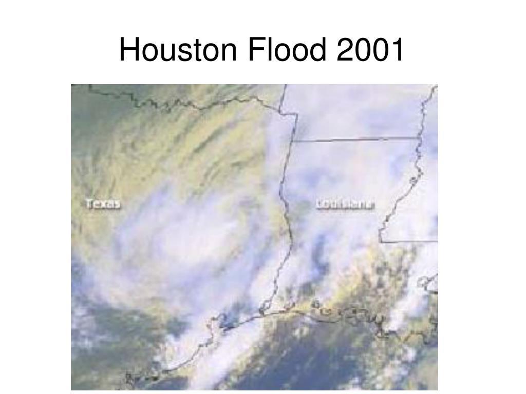 Houston Flood 2001