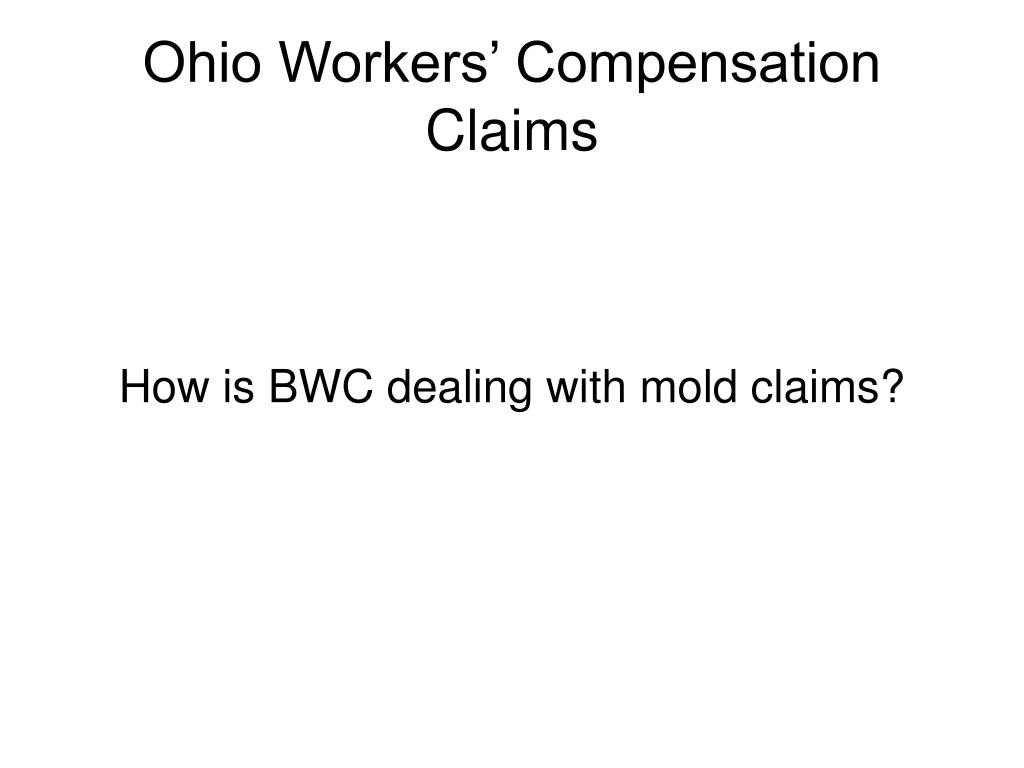Ohio Workers' Compensation Claims