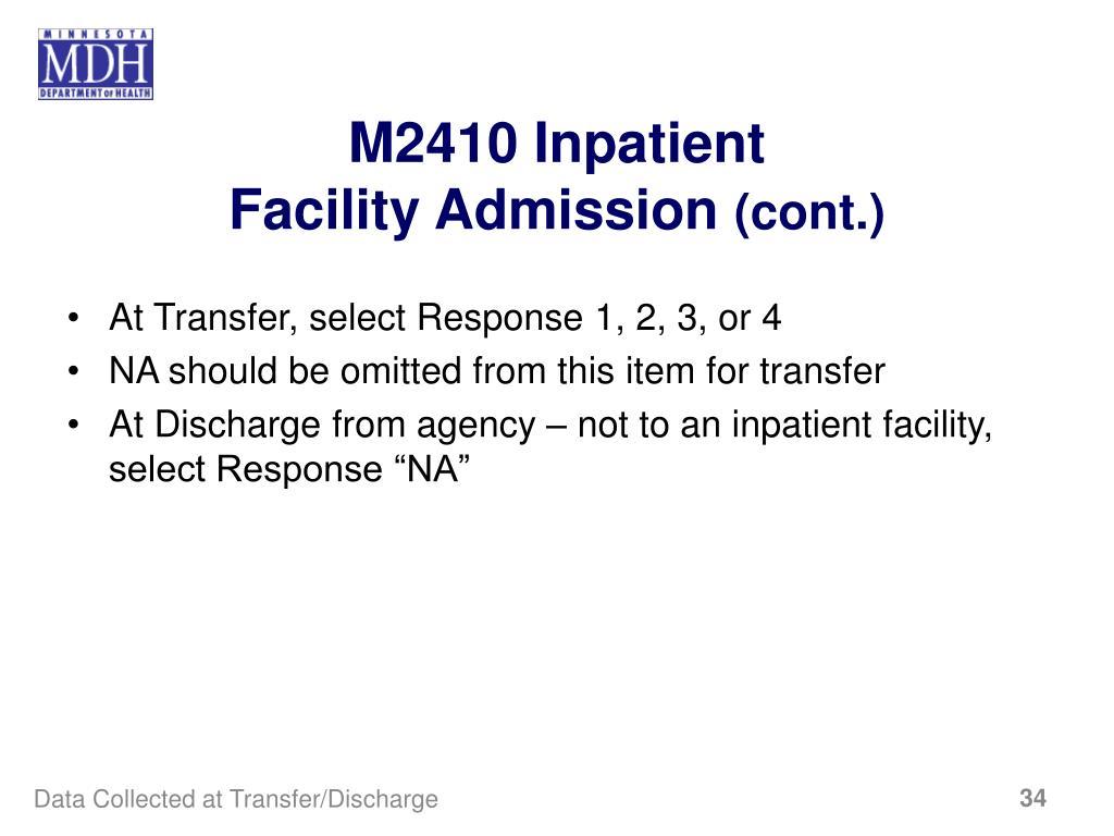 M2410 Inpatient
