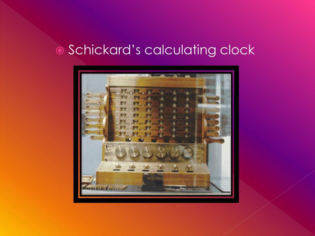 Schickard's