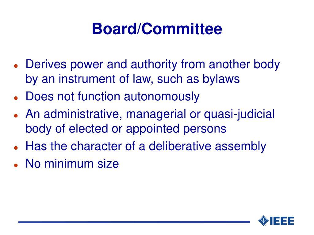 Board/Committee
