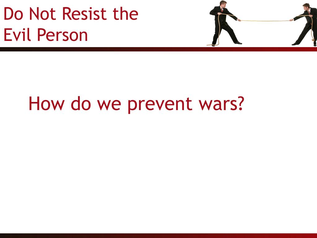 How do we prevent wars?