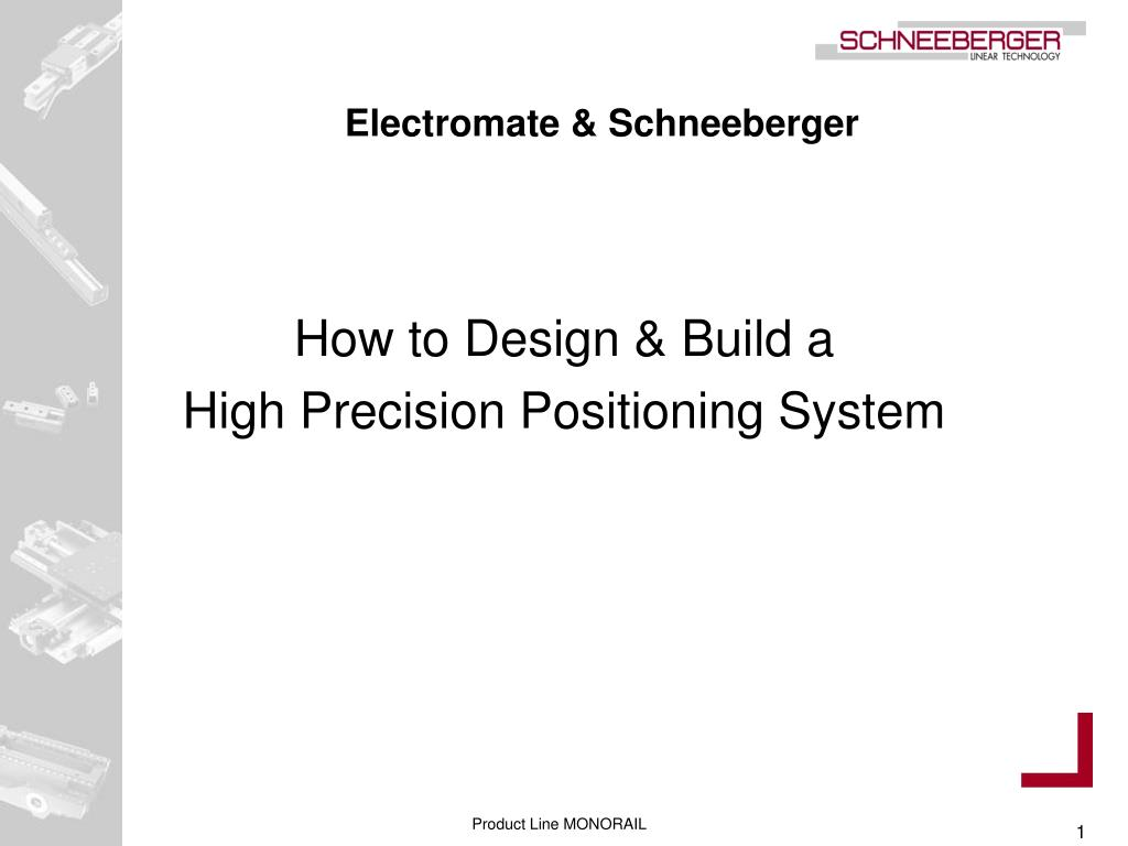 Electromate & Schneeberger