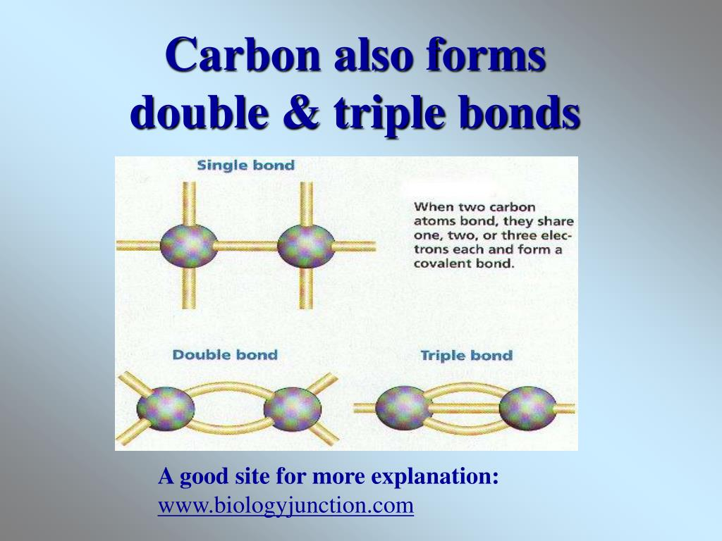 Carbon also forms