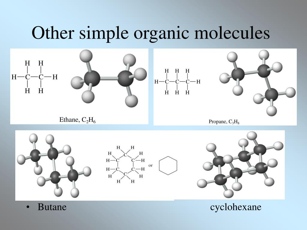 Other simple organic molecules