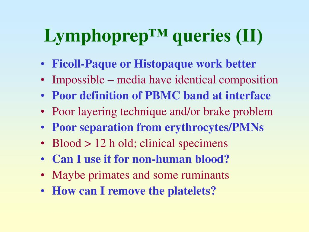 Lymphoprep
