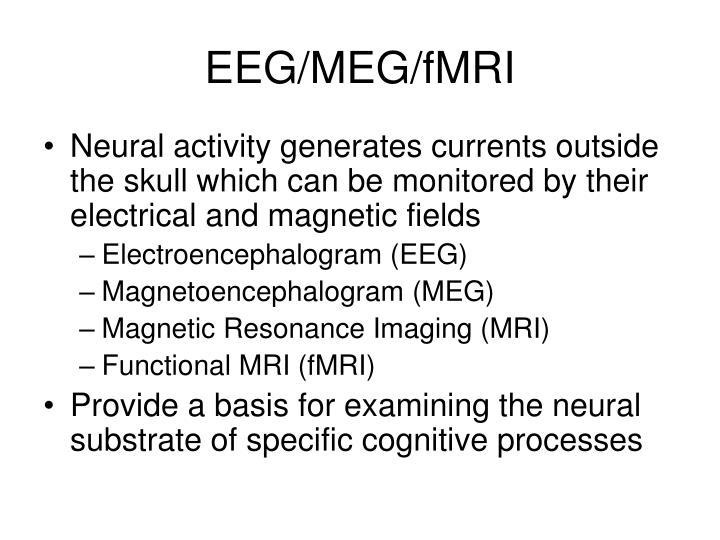 EEG/MEG/fMRI