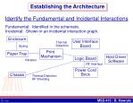 establishing the architecture5
