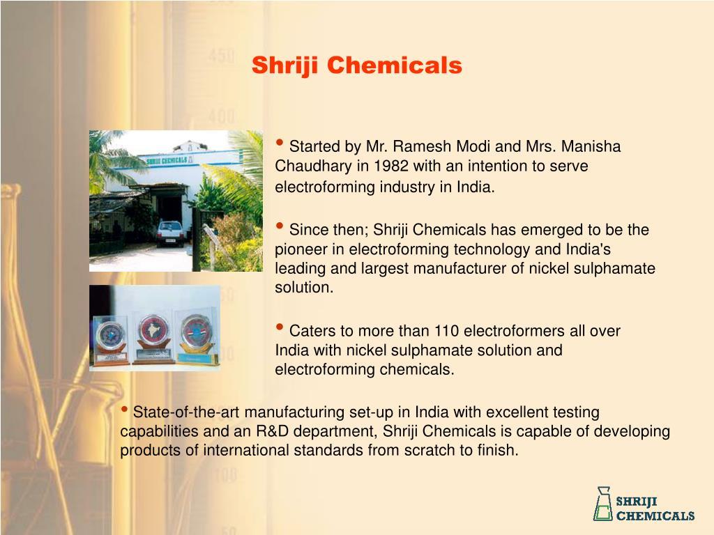 Shriji Chemicals