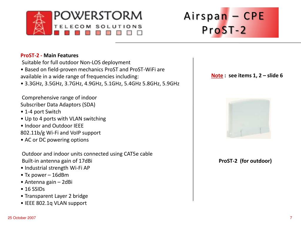 Airspan – CPE   ProST-2