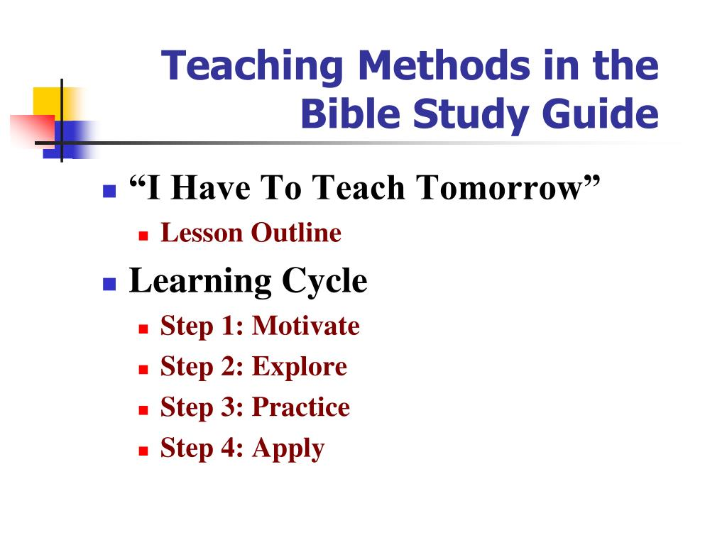 Adult Bible Study Guide - PowerPoint PPT Presentation