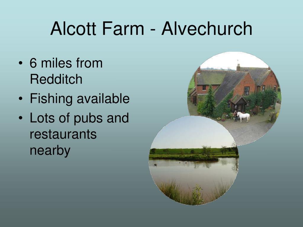 Alcott Farm - Alvechurch