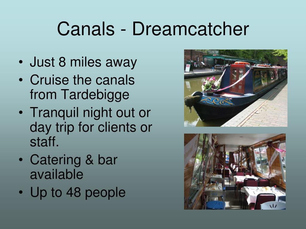 Canals - Dreamcatcher