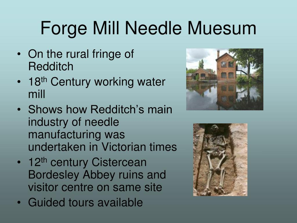 Forge Mill Needle Muesum