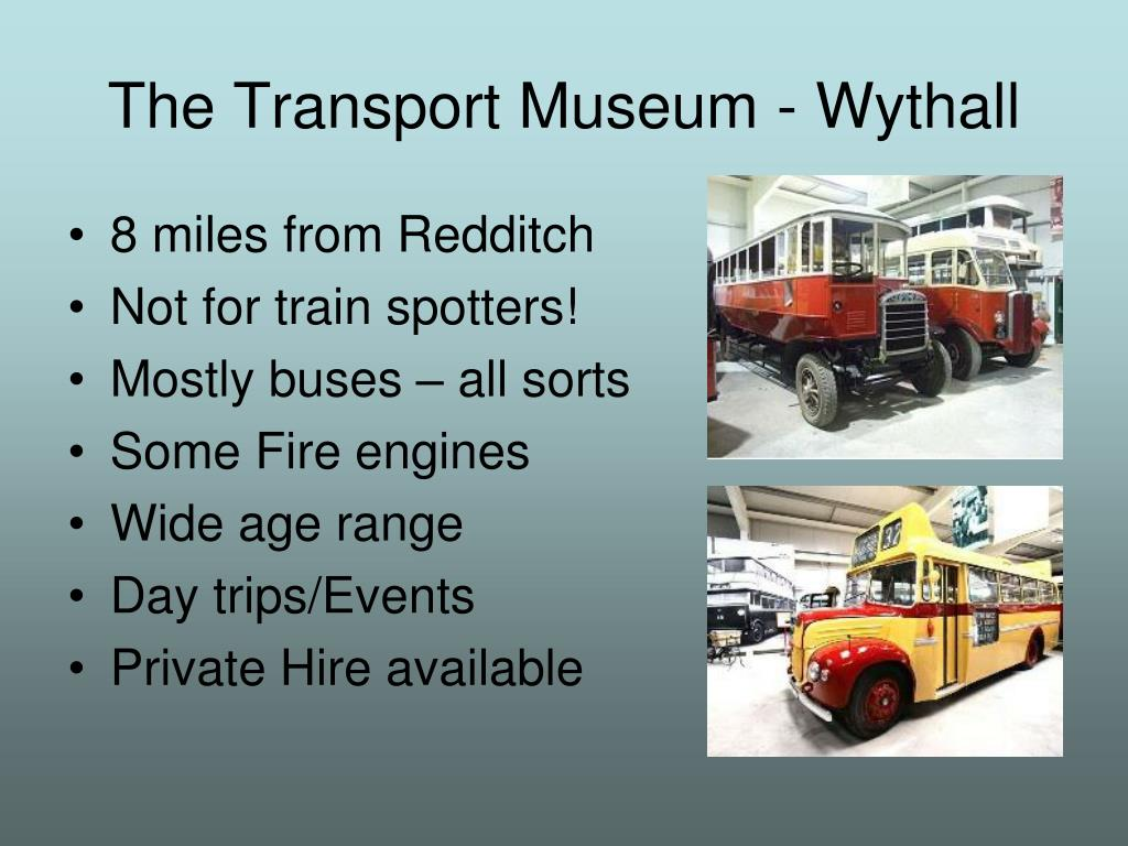 The Transport Museum - Wythall