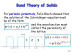 band theory of solids13