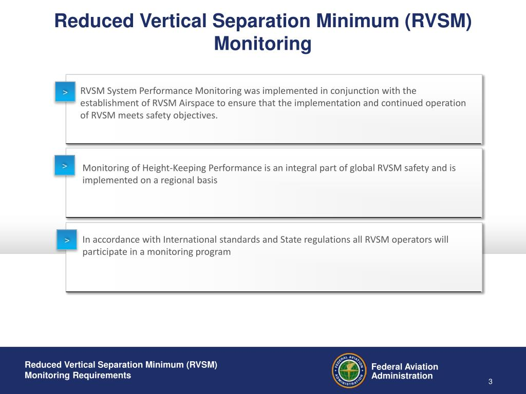 Reduced Vertical Separation