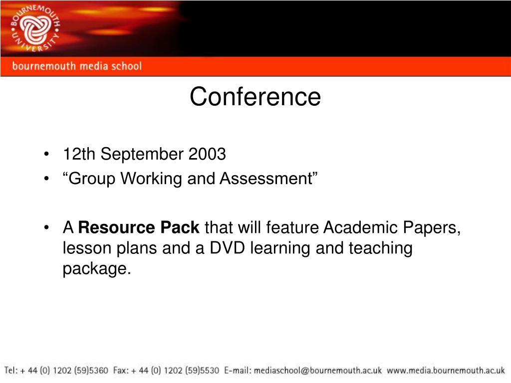 12th September 2003