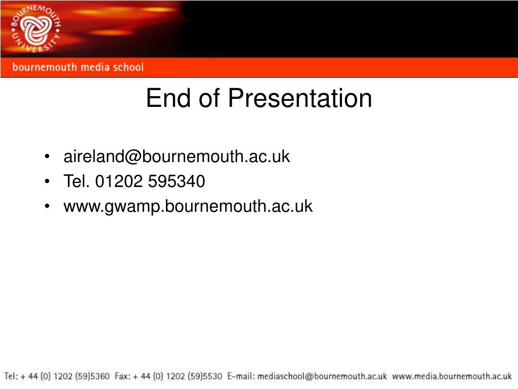 aireland@bournemouth.ac.uk