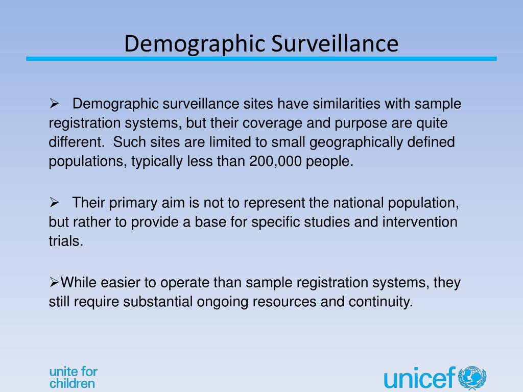 Demographic Surveillance