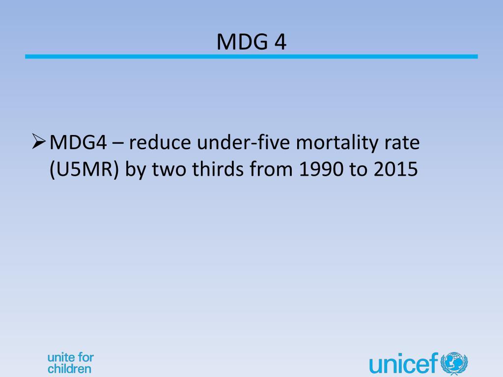 MDG 4