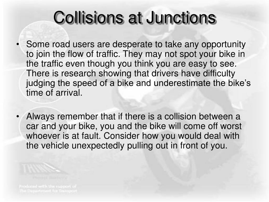 Collisions at Junctions