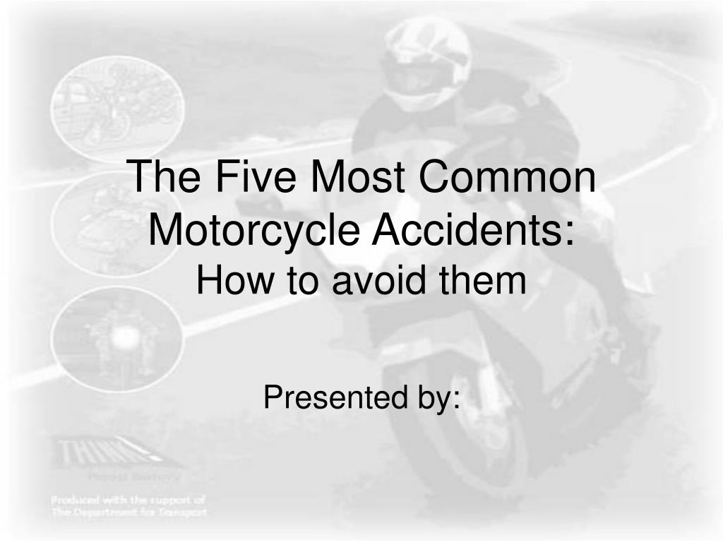 The Five Most Common Motorcycle Accidents: