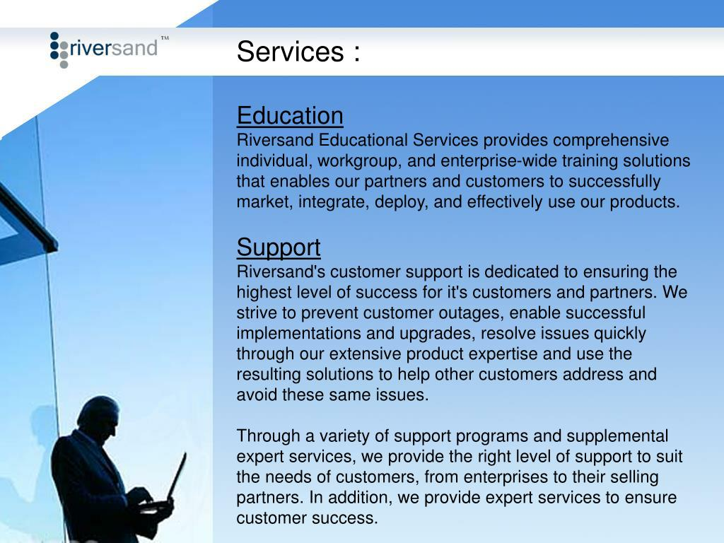 Services :