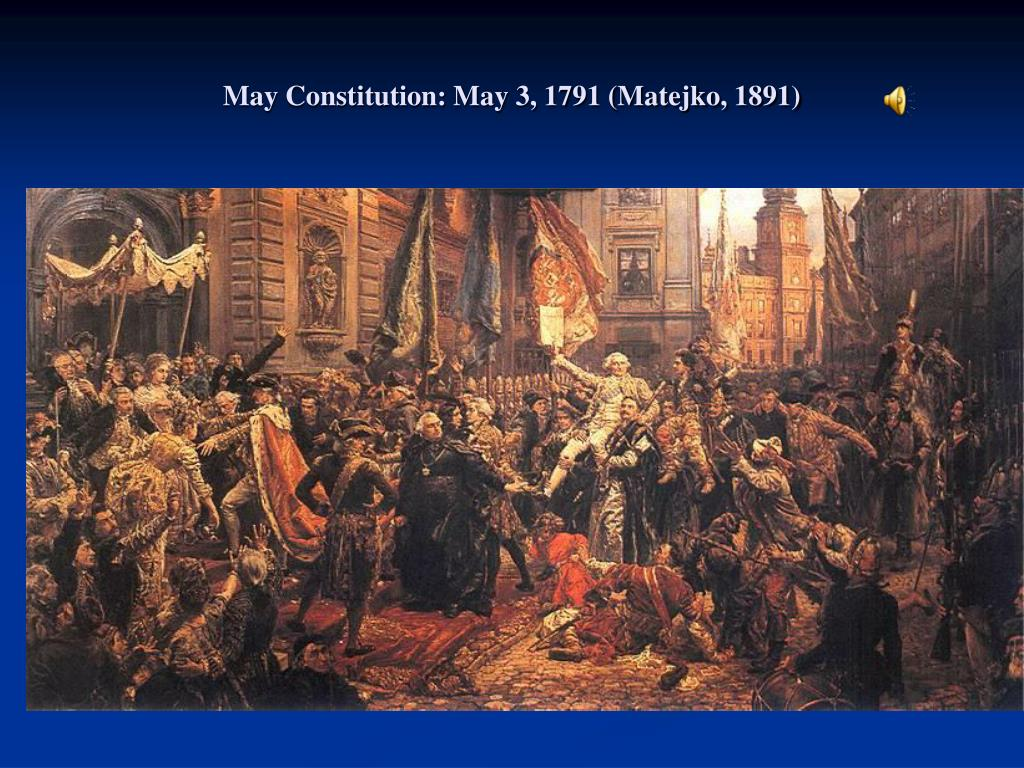 May Constitution: May 3, 1791 (Matejko, 1891)
