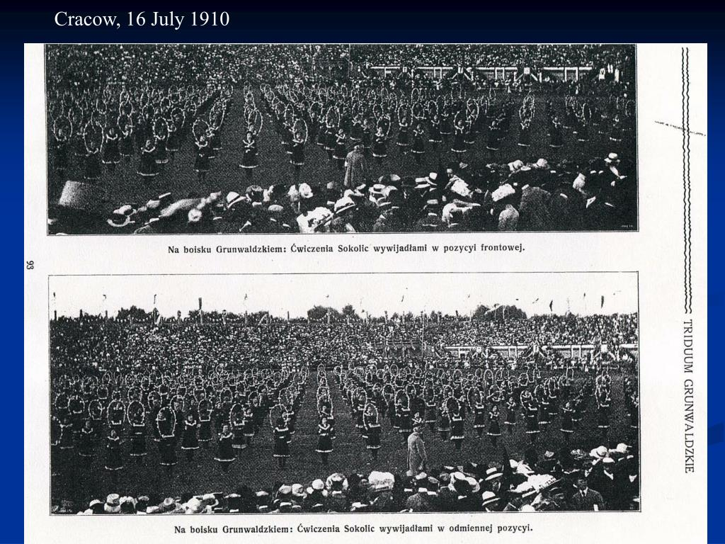 Cracow, 16 July 1910