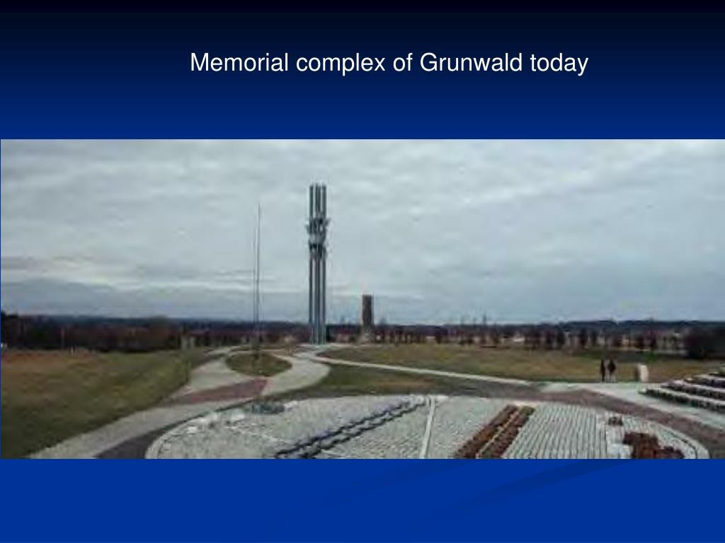 Memorial complex of Grunwald today