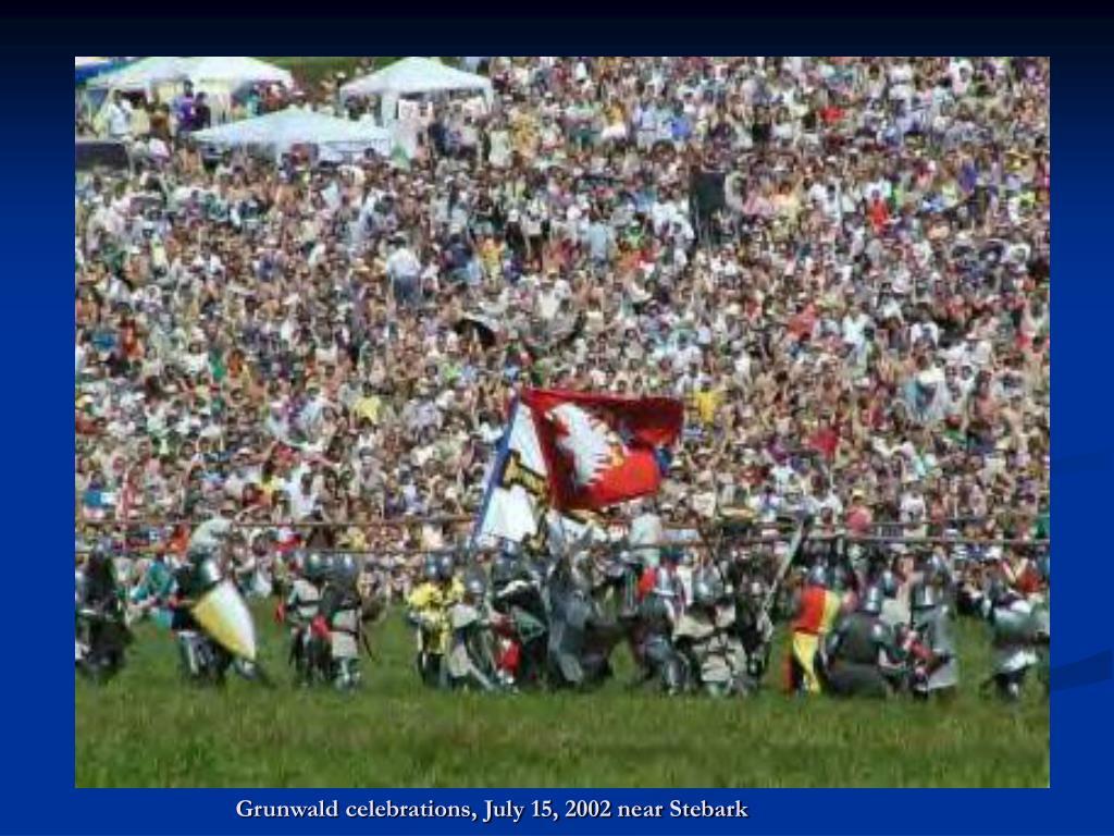 Grunwald celebrations, July 15, 2002 near Stebark