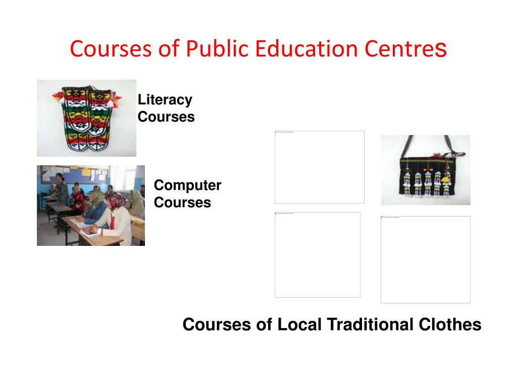 Courses of Public Education Centre