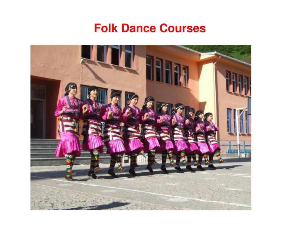 Folk Dance Courses