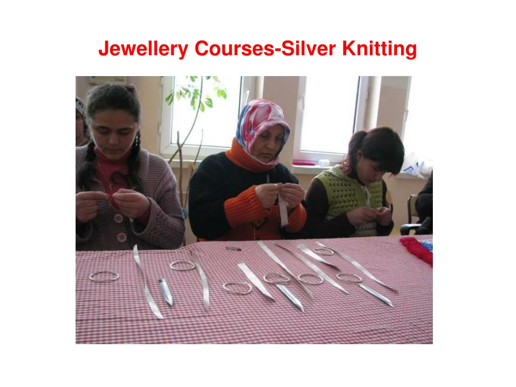 Jewellery Courses-Silver Knitting