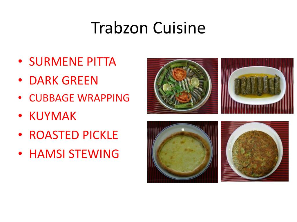 Trabzon Cuisine