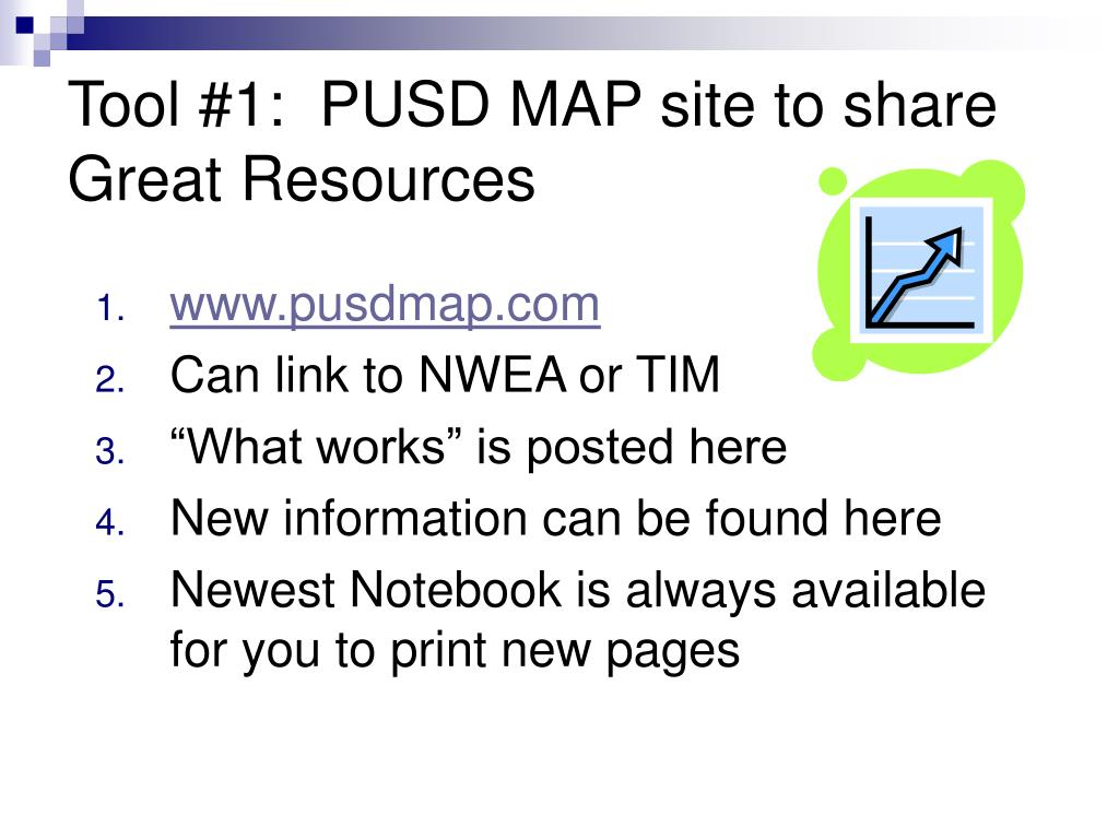 Tool #1:  PUSD MAP site to share Great Resources