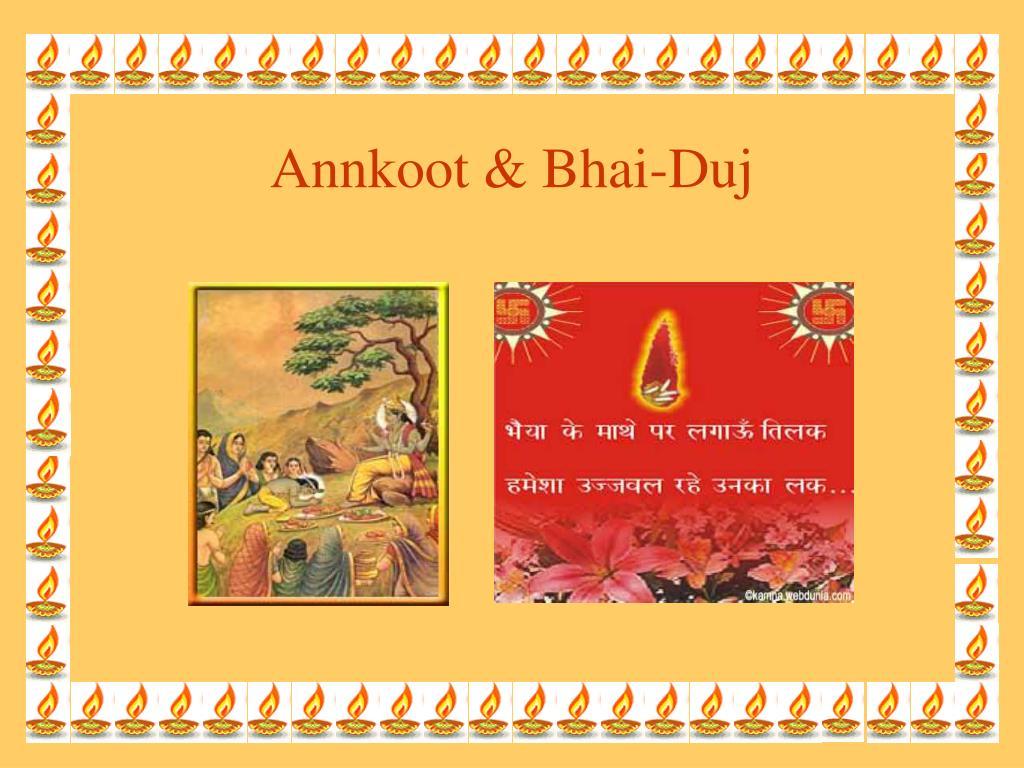 Annkoot & Bhai-Duj