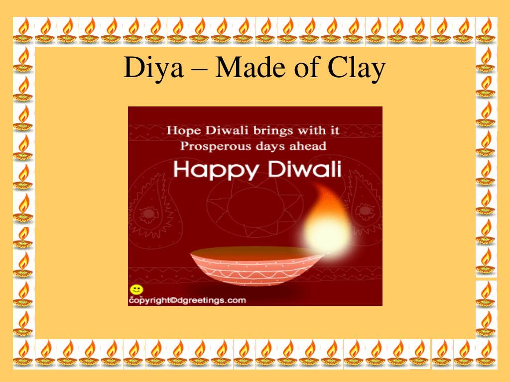 Diya – Made of Clay