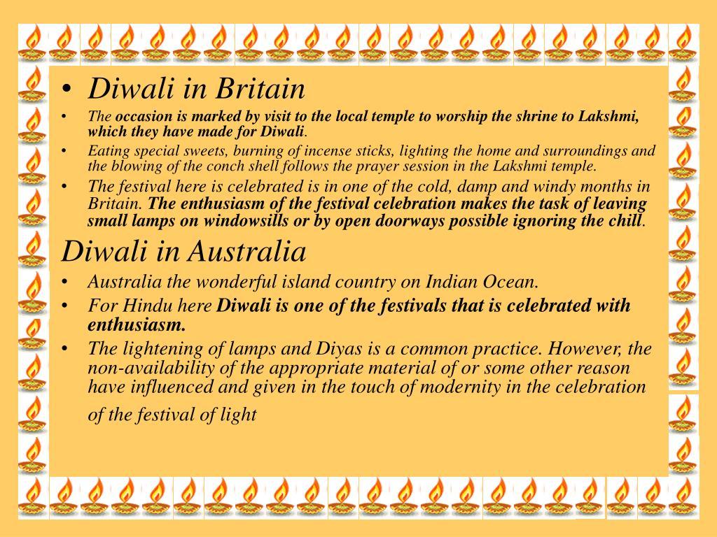 Diwali in Britain