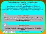 towards instruction set consolidation ia vision
