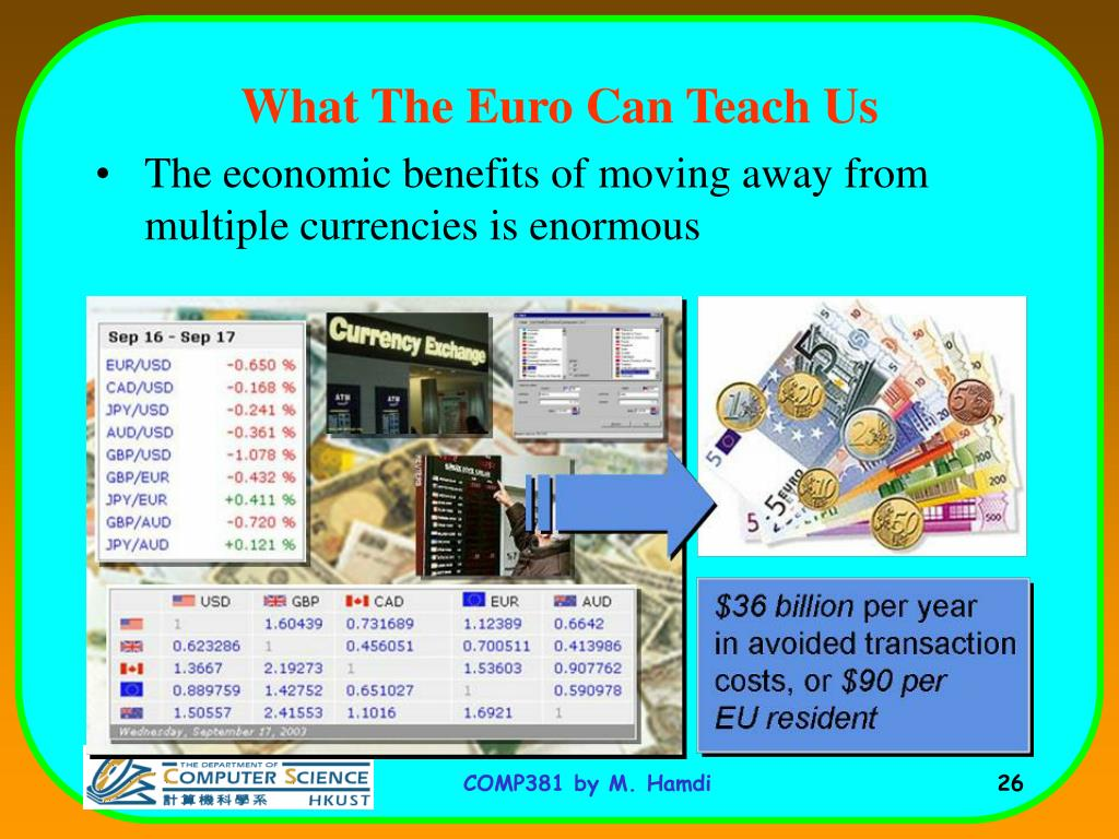 What The Euro Can Teach Us