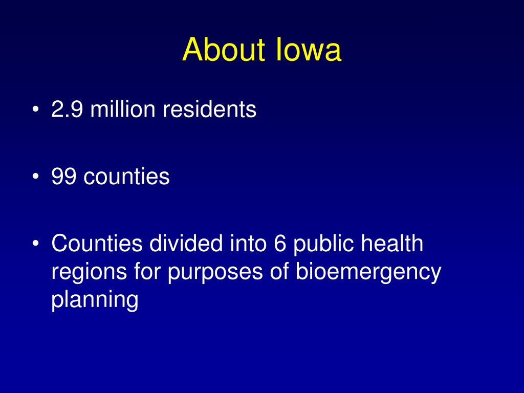 About Iowa