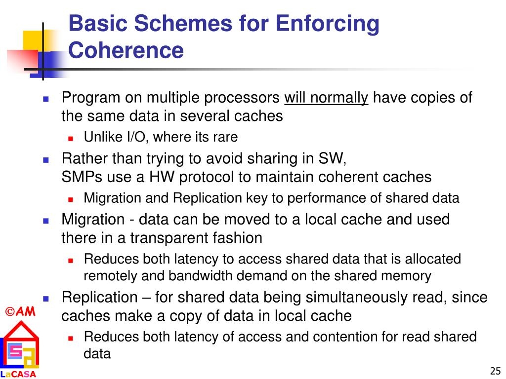 Basic Schemes for Enforcing Coherence
