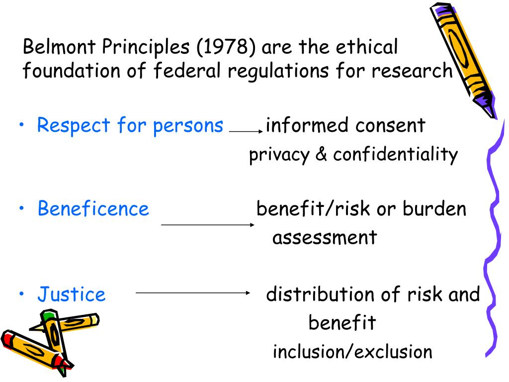 Belmont Principles