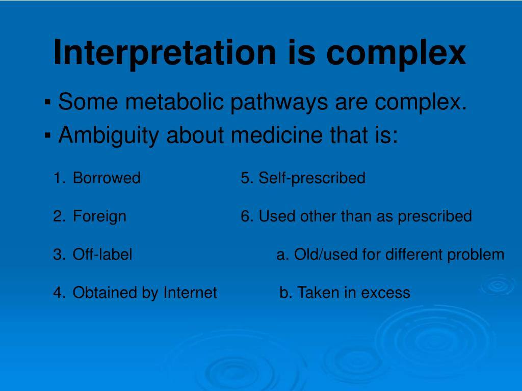 Some metabolic pathways are complex.