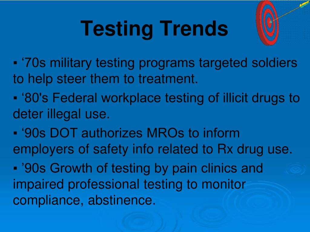 '70s military testing programs targeted soldiers to help steer them to treatment.