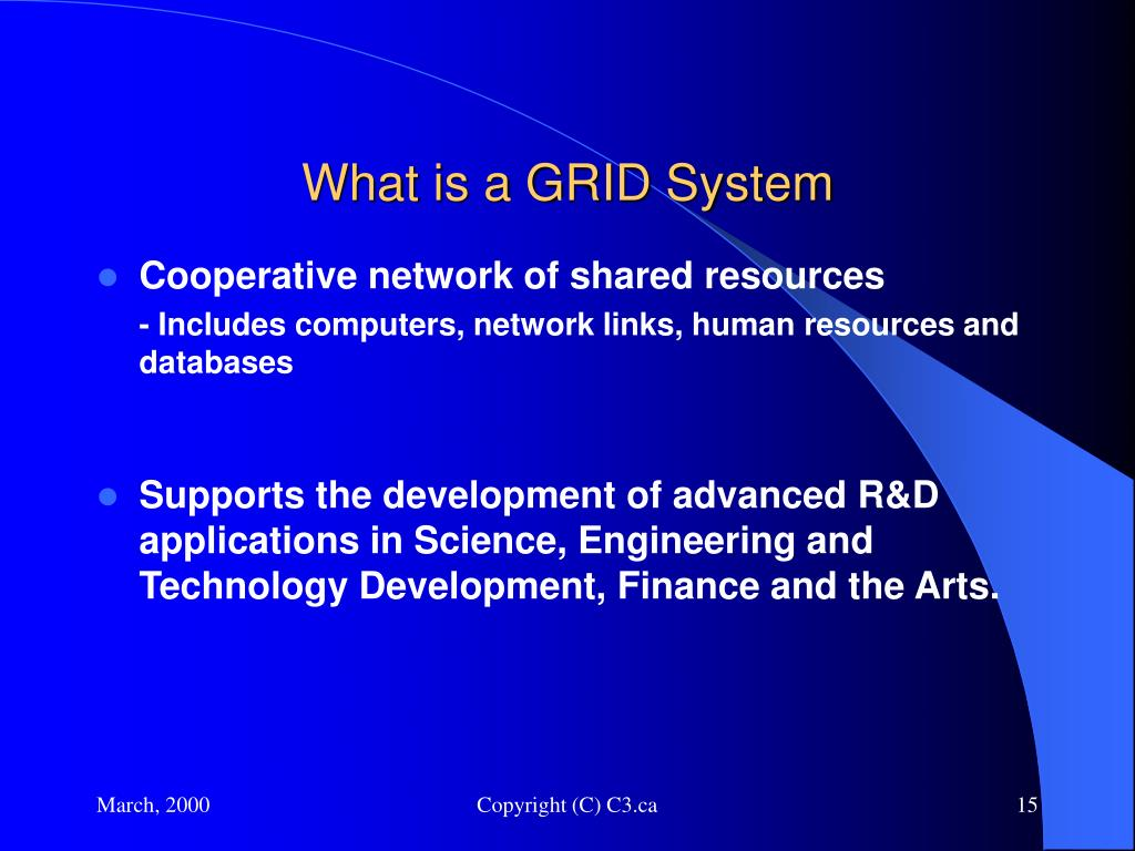 What is a GRID System