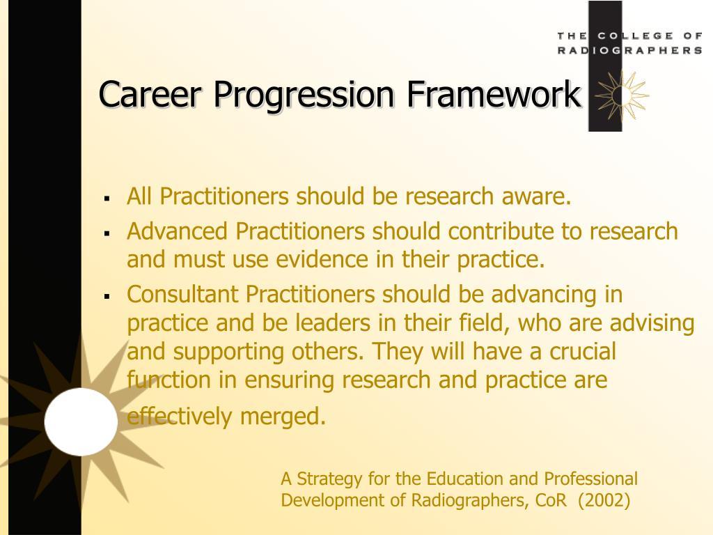 Career Progression Framework