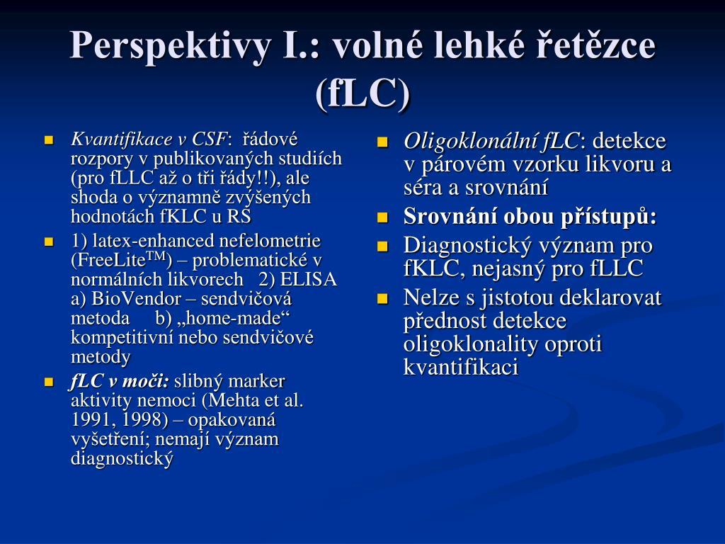 Kvantifikace v CSF